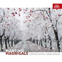 Bohuslav Martinu (1890-1959): Madrigale, CD