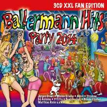 Ballermann Hits Party 2014, 3 CDs