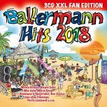 Ballermann Hits 2018 (XXL Fan Edition), 3 CDs
