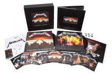 Metallica: Master Of Puppets (remastered) (180g) (Limited-Numbered-Edition) (Deluxe-Boxset), 3 LPs