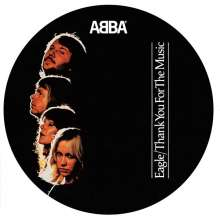 Abba: Eagle/ Thank You For The Music (Limited-Edition) (Picture Disc), Single 7""