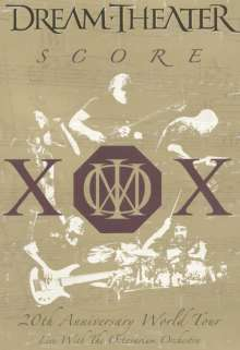 Dream Theater: Score: 20th Anniversary World Tour-Live With The Octavarium Orchestra, 2 DVDs