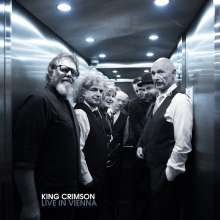 King Crimson: Live In Vienna, December 1, 2016, 3 CDs