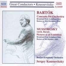 Serge Koussevitzky dirigiert das Boston Symphony Orchestra, CD