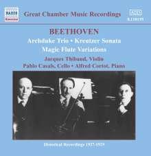 """Ludwig van Beethoven (1770-1827): Violinsonate Nr.9 """"Kreutzer"""", CD"""