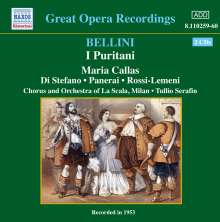 Vincenzo Bellini (1801-1835): I Puritani, 2 CDs
