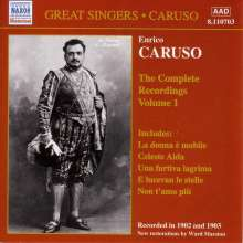 Enrico Caruso:The Complete Recordings Vol.1, CD