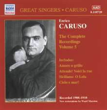 Enrico Caruso:The Complete Recordings Vol.5, CD
