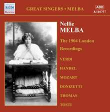 Nellie Melba - The 1904 London Recordings, CD