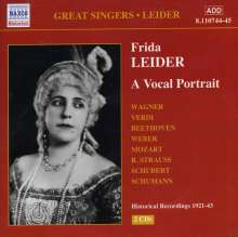 Frida Leider - A Vocal Portrait, 2 CDs