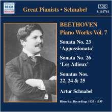 Ludwig van Beethoven (1770-1827): Klaviersonaten Nr.22-26, CD