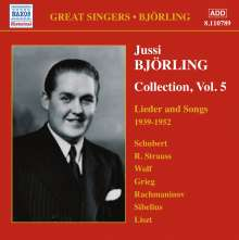 Jussi Björling - Collection Vol.5, CD