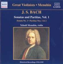 Johann Sebastian Bach (1685-1750): Sonaten & Partiten für Violine BWV 1001,1002,1004, CD