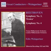 Ludwig van Beethoven (1770-1827): Symphonien Nr.3 & 4, CD