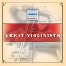 Great Violinists, 2 CDs