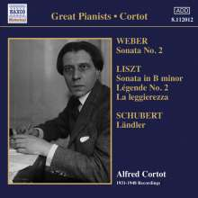 Alfred Cortot - 1931-1948 Recordings, CD