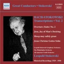 Johann Sebastian Bach (1685-1750): Stokowski-Transkriptionen Vol.2, CD