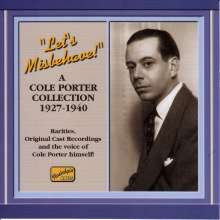 Cole Porter (1891-1964): Let's Misbehave, CD