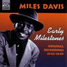 Miles Davis (1926-1991): Early Milestones, CD