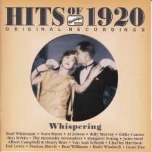 Hits Of 1920 - Original Recordings, CD