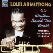 Louis Armstrong (1901-1971): Rhythm Saved The World, CD