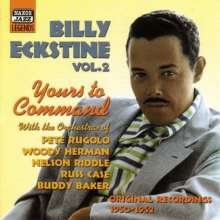 Billy Eckstine (1914-1993): Yours To Command, CD