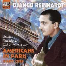 Django Reinhardt (1910-1953): Americans In Paris Part One, CD
