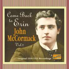 John McCormack: Come Back To Erin, CD