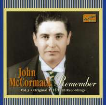 John McCormack: Remember, CD