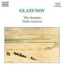 Alexander Glasunow (1865-1936): Violinkonzert op.82, CD