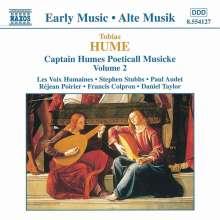 Tobias Hume (1569-1645): Poetickall Musicke (1607) Vol.2, CD