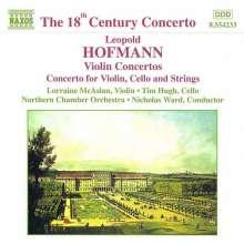 Leopold Hofmann (1738-1793): Violinkonzerte in B & A, CD