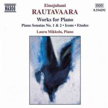 Einojuhani Rautavaara (geb. 1928): Klavierwerke, CD