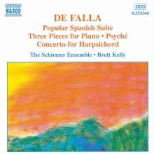 Manuel de Falla (1876-1946): Cembalokonzert, CD