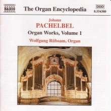 Johann Pachelbel (1653-1706): Sämtliche Orgelwerke Vol.1, CD