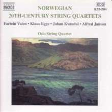Oslo String Quartet - 20th Century Norwegian String Quartets, CD