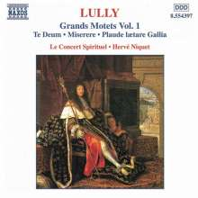 Jean-Baptiste Lully (1632-1687): Grosse Motetten Vol.1, CD