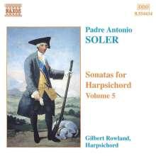 Padre Antonio Soler (1729-1783): Sämtliche Cembalosonaten Vol.5, CD