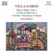 Heitor Villa-Lobos (1887-1959): Klavierwerke Vol.1, CD