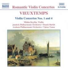 Henri Vieuxtemps (1820-1881): Violinkonzerte Nr.1 & 4, CD