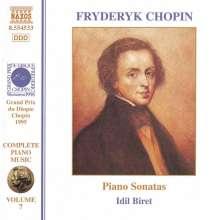 Frederic Chopin (1810-1849): Klaviersonaten Nr.1-3, CD