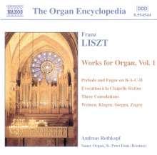 Franz Liszt (1811-1886): Orgelwerke Vol.1, CD