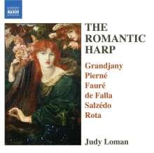 Judy Loman - The Romantic Harp, CD