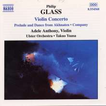 Philip Glass (geb. 1937): Violinkonzert, CD