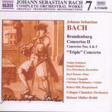 Johann Sebastian Bach (1685-1750): Brandenburgische Konzerte Nr.4 & 5, CD