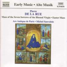 Pierre de la Rue (1460-1518): Missa de Septem Doloribus Beatissime Marie Virginis, CD