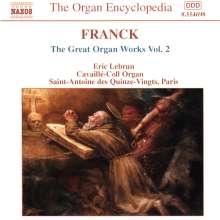 Cesar Franck (1822-1890): Die großen Orgelwerke Vol.2, CD