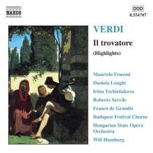 Giuseppe Verdi (1813-1901): Il Trovatore (Ausz.), CD