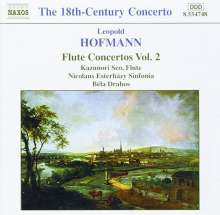 Leopold Hofmann (1738-1793): Flötenkonzerte Vol.2, CD