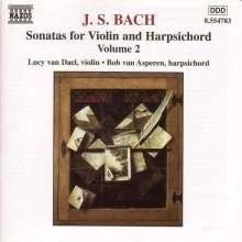 Johann Sebastian Bach (1685-1750): Sonaten für Violine & Cembalo BWV 1018 & 1019, CD